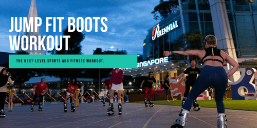JUMP FIT BOOTS WORKOUT AT CAPITOL SINGAPORE, #B1-34
