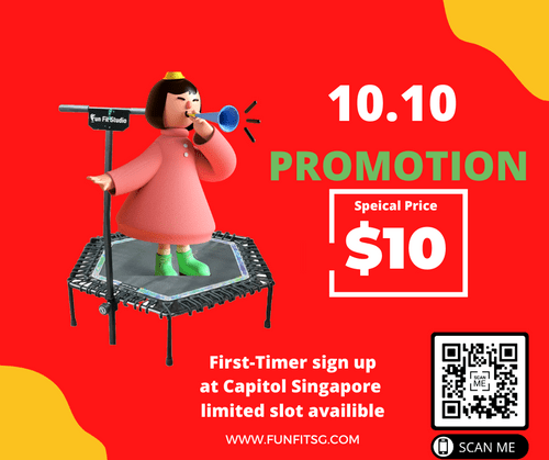 10.10 PROMOTION TRAMPOLINE (ONLY CAPITOL SG )