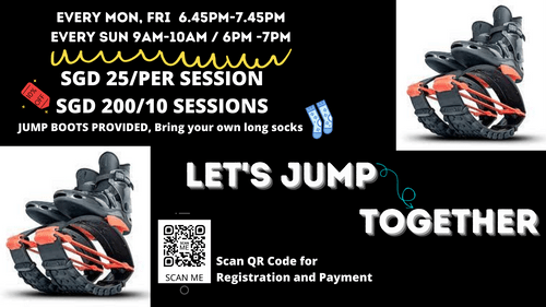 JUMP FIT BOOTS WORKOUT AT CAPITOL SINGAPORE, OUTDOOR PLAZA
