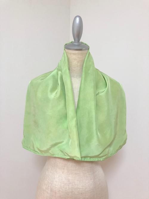 NEW ! ワイド草木染め布 × Kanartオリジナルテキスタイル スカーフ