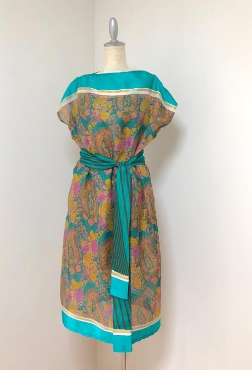 サリーリメイクドレスセット Sari Remake Dress Set