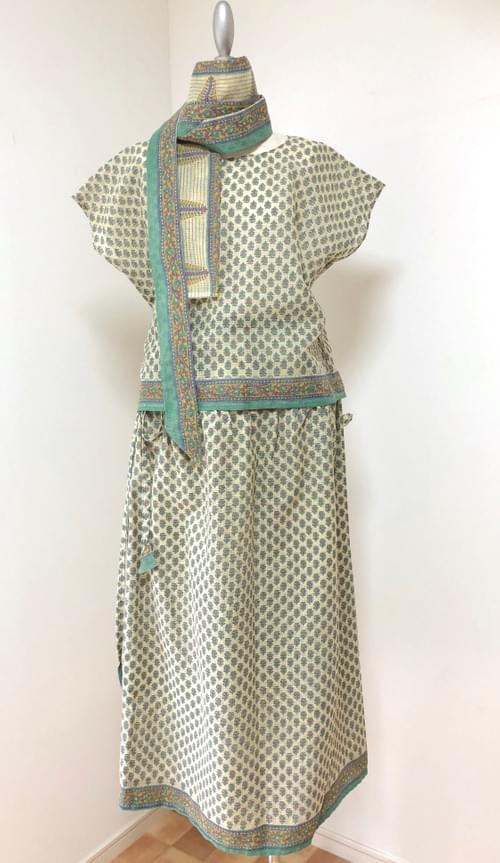 :::SOLD OUT::: サリーリメイクドレスセット Sari Remake Dress Set
