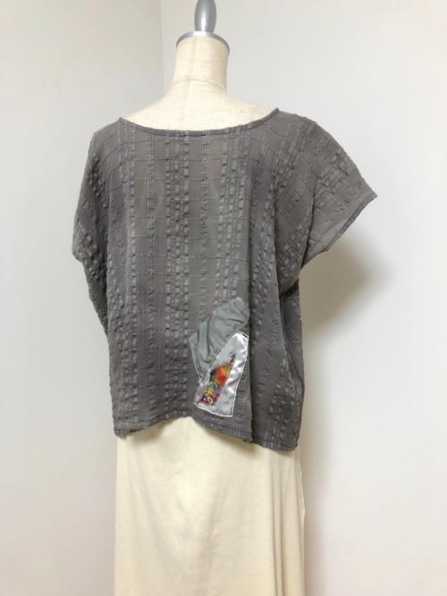 NEW ! カキドオシ染め布 × Kanartオリジナルテキスタイル トップ
