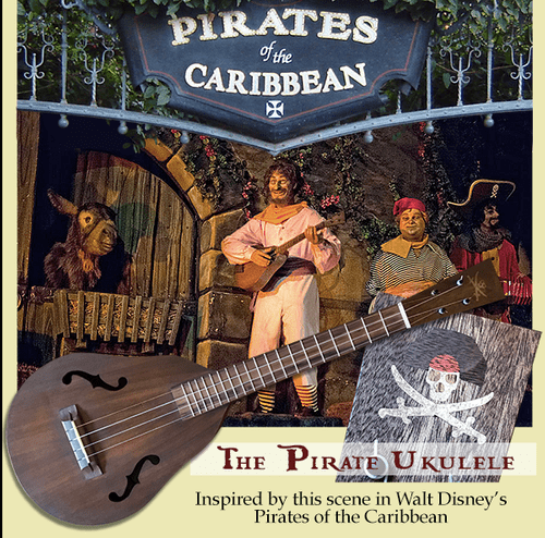 Pirate Ukulele  A Custom-Built Tribute to Walt Disney