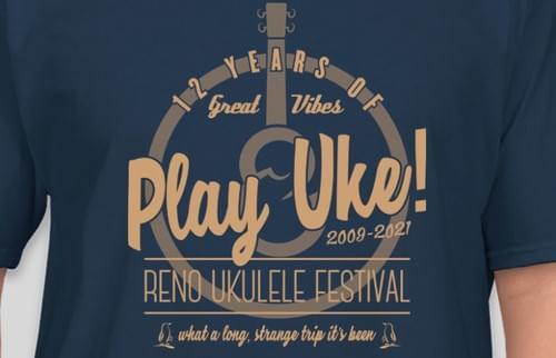 2021 Reno Ukulele Festival Tee