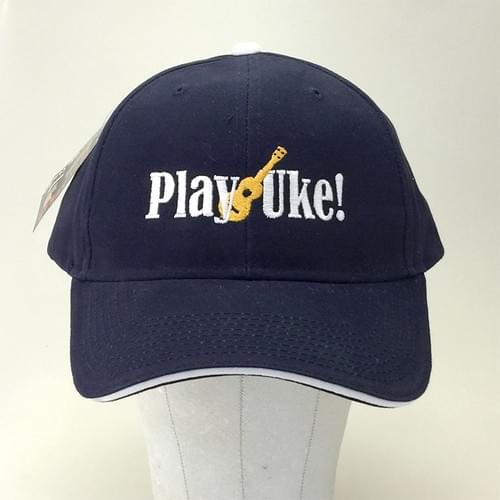 Navy/White Brushed Cotton Cap