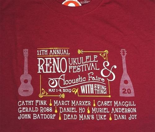 2019 Reno Tee Maroon UNISEX