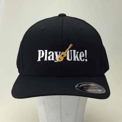 XXL Black FlexFit™ Twill Cap