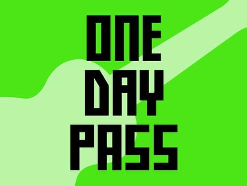 ONE DAY PASS - SOLD OUT!