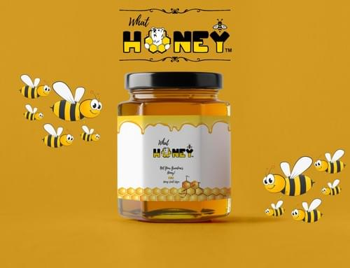 What Honey? Not Your Grandma's Honey! CBD 450mg - 105ml - 150gm