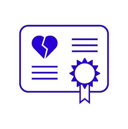 Divorce Certificate - Guatemala - ID 010