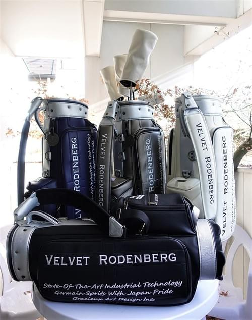 VELVET RODENBERG  CADDY BAG