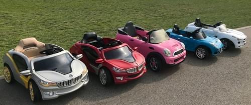 Bērnu mašīnītes ar pulti