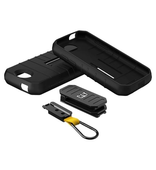 CAT® Hyrbid Case - Original with Belt Clip and Carabiner