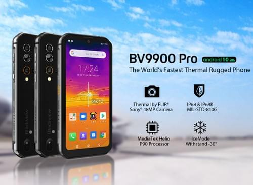 BV9900E/BV9900 Pro - Slim, Rugged, High Performance Android Smartphone