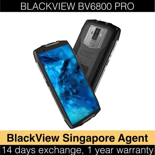BV6800 Pro - 2019 Rugged Mobile Phone with Wireless Charging
