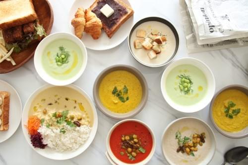 12月8日お届け【港区エリア限定】季節のスープ・デリ8品デリバリーセット 1