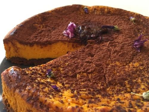 Pumpkin Choco Pie
