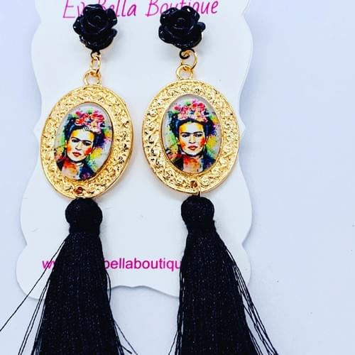 Frida Kahlo Inspired Earrings