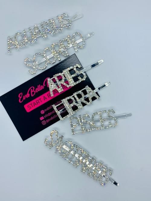 Zodiac Glam Pins