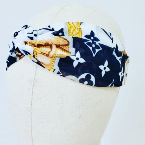 Louis Vuitton Inspired Headband