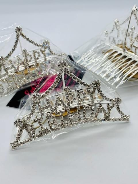 "Happy Birthday ""Bling"" Tiara/Crown"