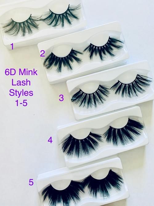 6D 25MM MINK LASHES