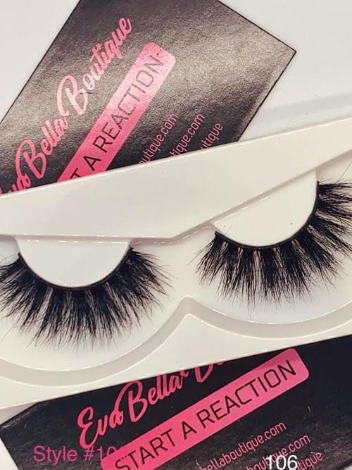 3D Faux Mink Fashion Lashes