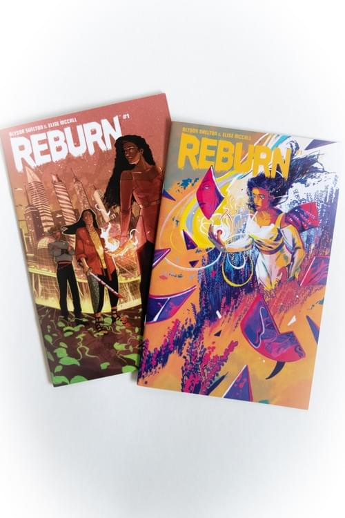 REBURN Issue #1: Cover Combo