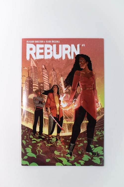 REBURN Issue #1: Elise McCall Cover