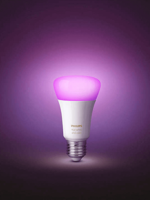 Philips Hue White and Colour Ambiance Single Bulb G3