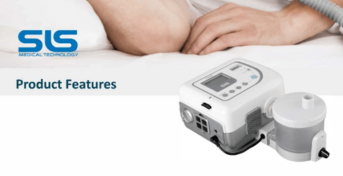 SLS Auto-CPAP ventilator with humidifier (CP101S)