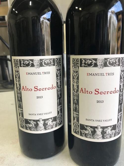 2013 emanuel tres-alto secredo-santa ynez valley