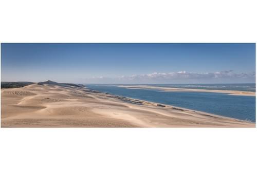 40x80 cm sur plaque Forex- Dune banc