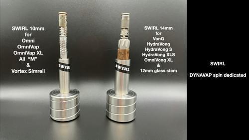 SWIRL DYNAVAP spin dedicated