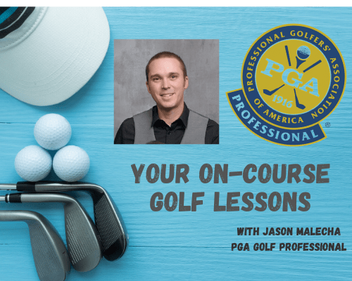 On-Course Golf Lesson At Your Home Course