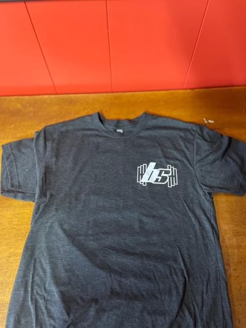 Beyond Strength- Flag Gray T-Shirt