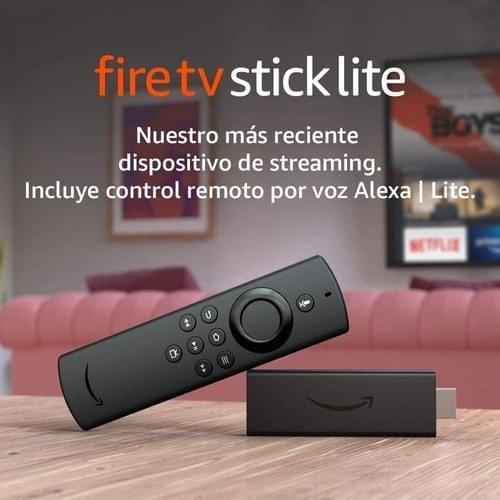 Amazon Fire TV Stick Lite con Alexa voz remoto