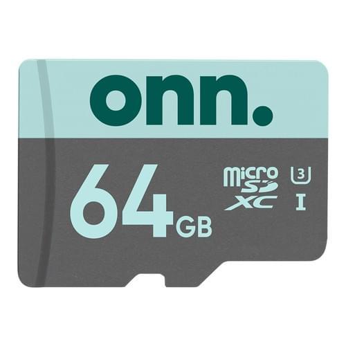 Memoria microSDXC  Keep Onn. 64GB Clase 10 U3 microSDXC 4k