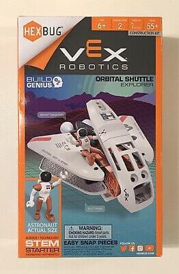 Hexbug Vex Robotics orbital Shuttle Explorer