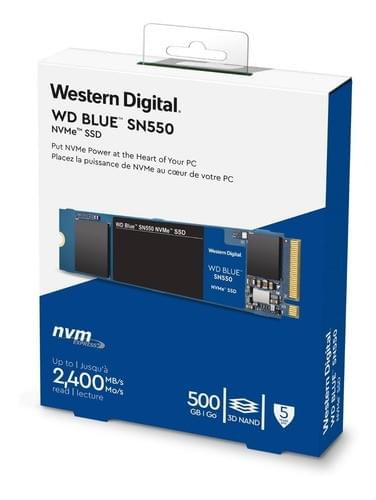 Disco Duro SSD WD Blue  SN550 NVMe