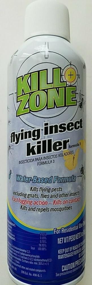 Insecticida Kill Zone Insectos voladores