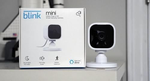 Amazon Blink Mini - Cámara De Seguridad Inteligente