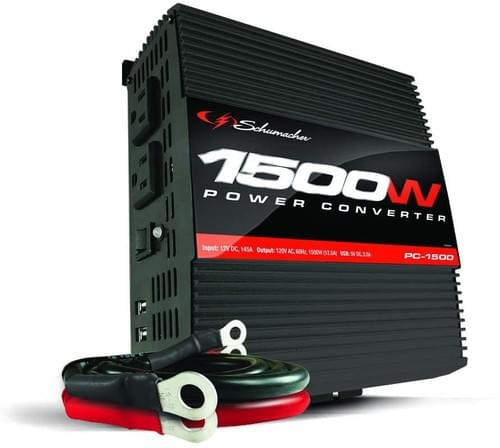CONVERTIDOR DE POTENCIA DE 1500 VATIOS / 3000 VATIOS SCHUMACHER PC-