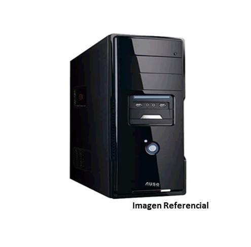 Case Para CPU Ause Atx Negro Con Fuente De Poder 500w