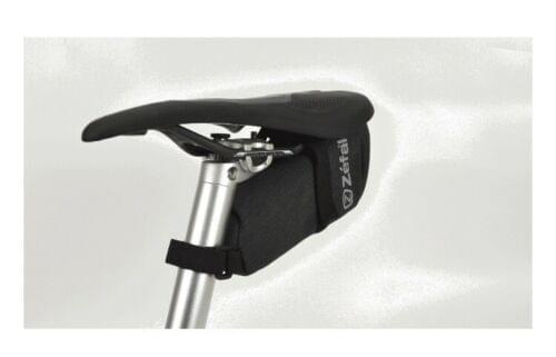 Bolso de asiento para bicicleta Zefal Deluxe (montaje universal, no se necesitan herramientas)