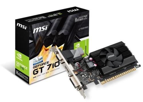 Tarjeta de Video MSI Video Geforce GT 710 2GB