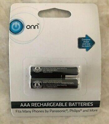 Batería del teléfono inalámbrico Onn AAA  2.4V Nimh