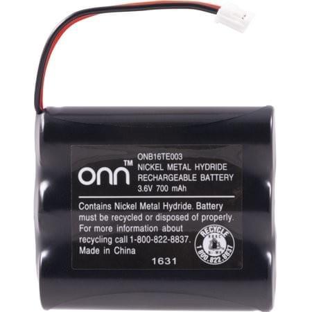 Batería del teléfono inalámbrico Onn 700 Mah Onb16te003 3.6v Ni-mh para Ge Vtech At & t Sony