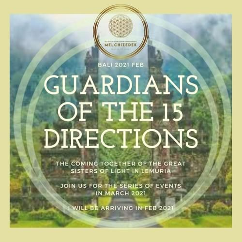 Guardians of the 15 Directions - Bali Retreat EVENT Work (Conference 2021) 3 DAY ONLINE EVENT